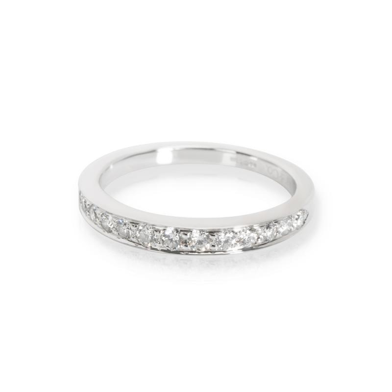 Tiffany Co Channel Set Diamond Band in Platinum 0 24 CTW
