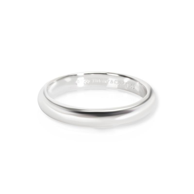 Tiffany Co Classic 3mm Wedding Band in Platinum