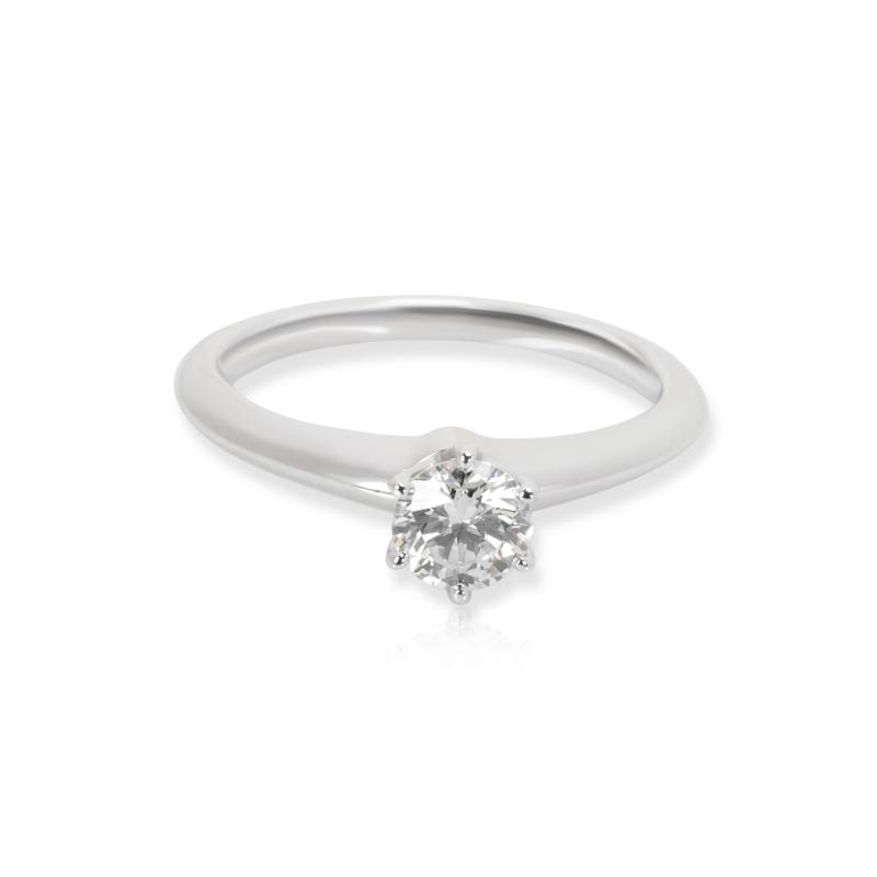 Tiffany Co Diamond Engagement Ring in Platinum 0 39 CTW