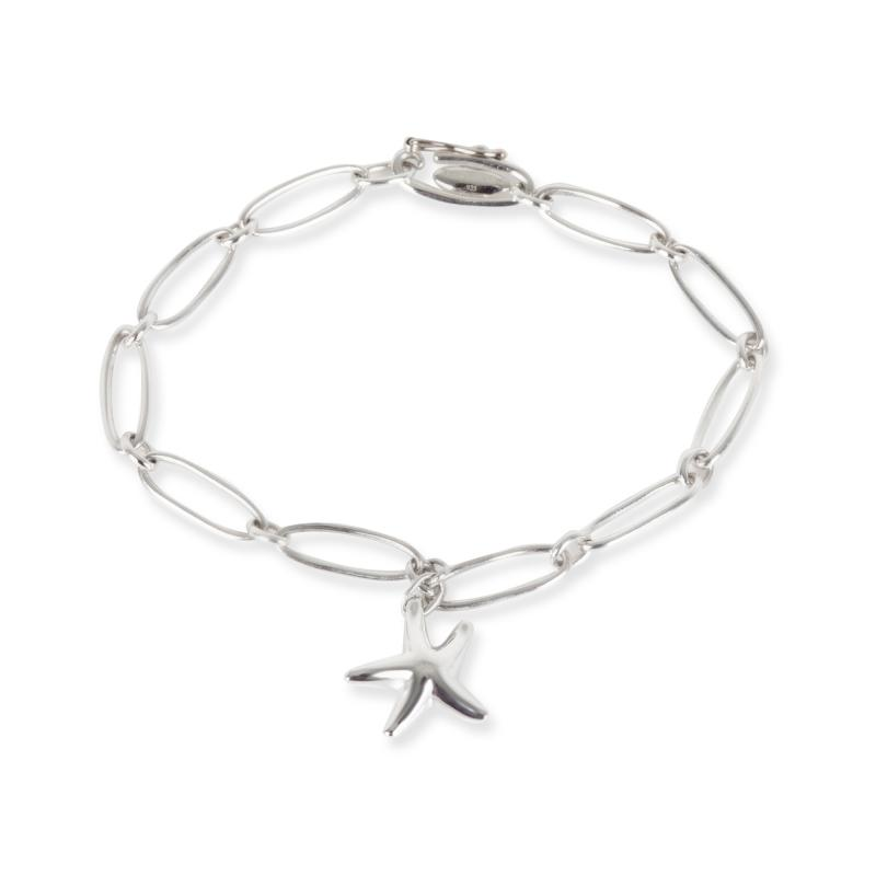 Tiffany Co Elsa Peretti Sarfish Bracelet in Sterling Silver