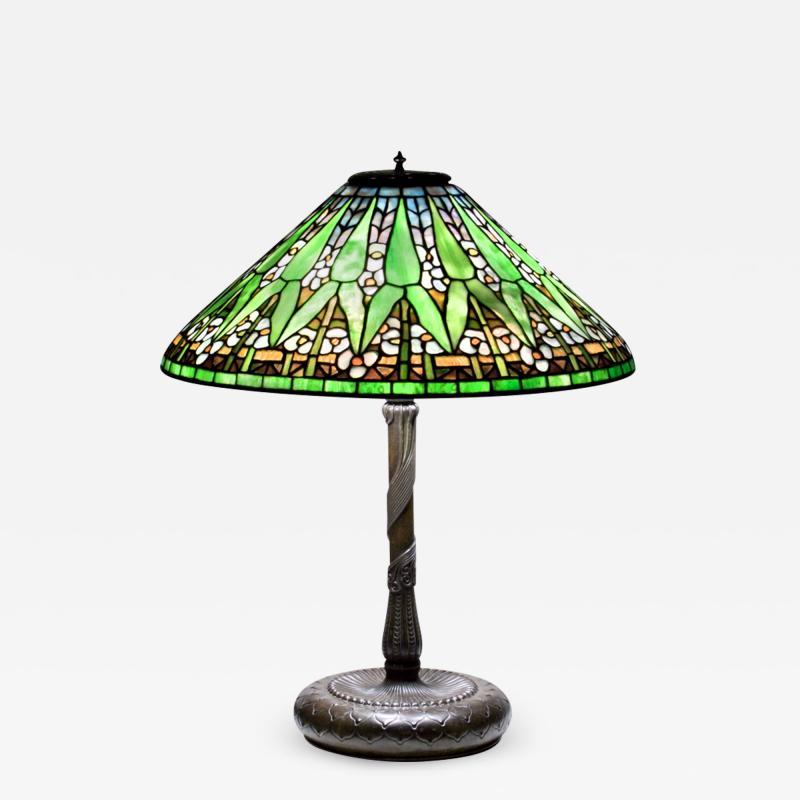 Tiffany Studios Arrowhead Table Lamp