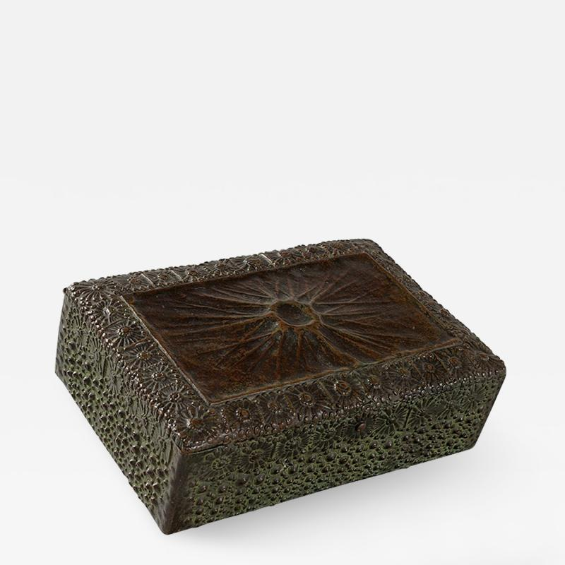 Tiffany Studios Bronze Humidor by Tiffany Studios New York