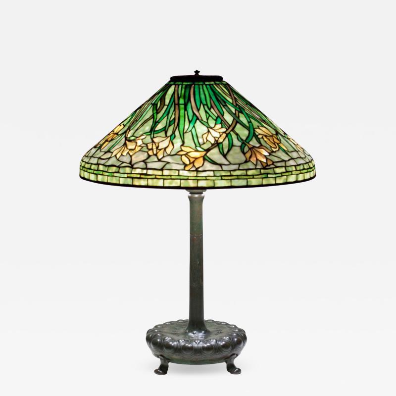 Tiffany Studios Early Daffodil Table Lamp