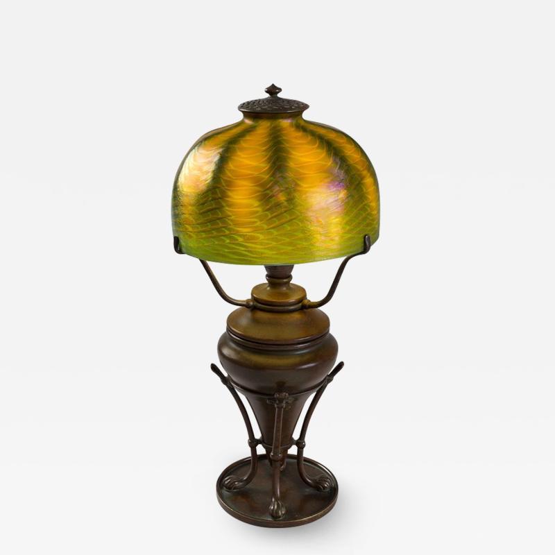 Tiffany Studios Favrile Tiffany Lamp