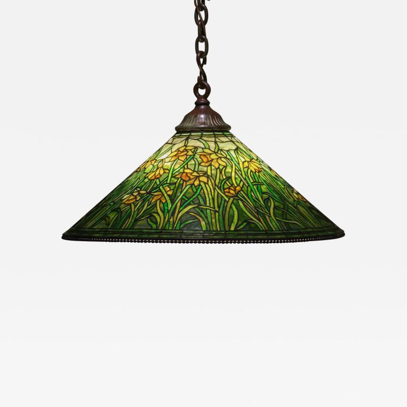 Tiffany Studios Hanging Daffodil Shade