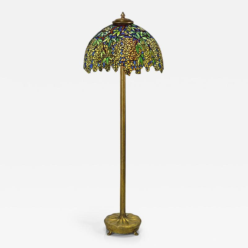Tiffany Studios Laburnum Tiffany Floor Lamp