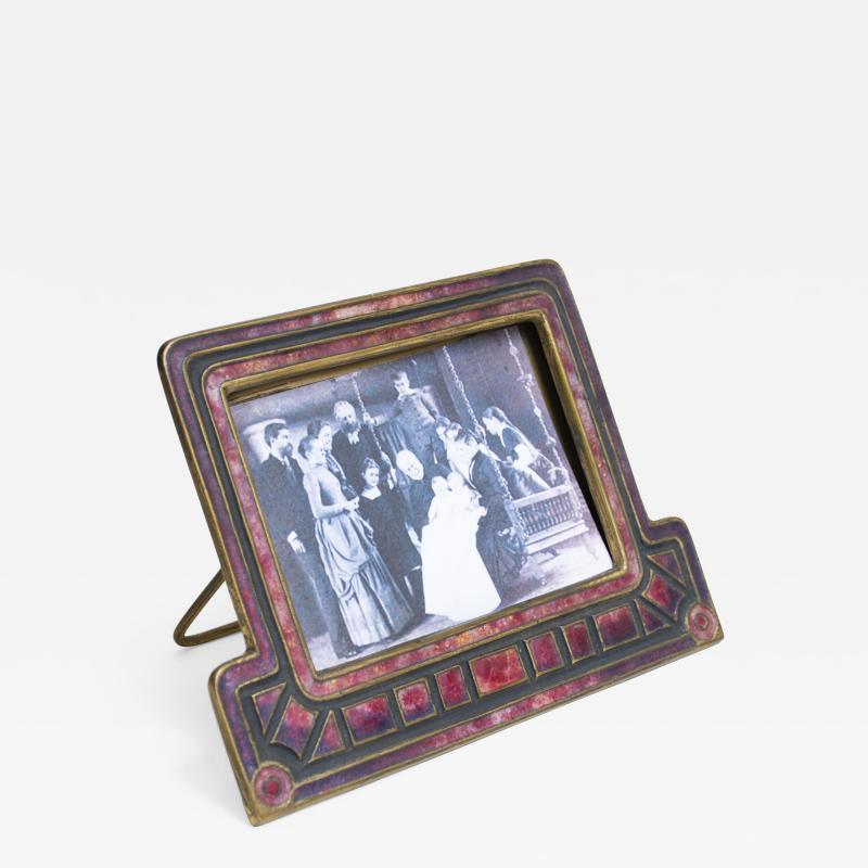 Tiffany Studios Louis C Tiffany Furnaces Inc Art Deco Calendar Frame