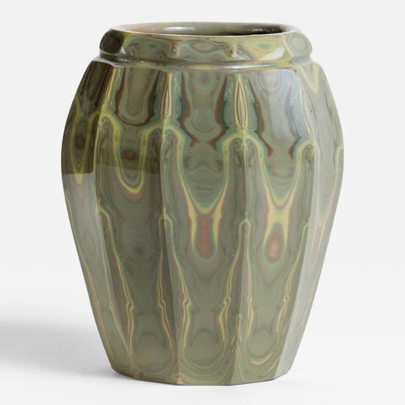 Tiffany Studios Rare Faceted Agate Vase