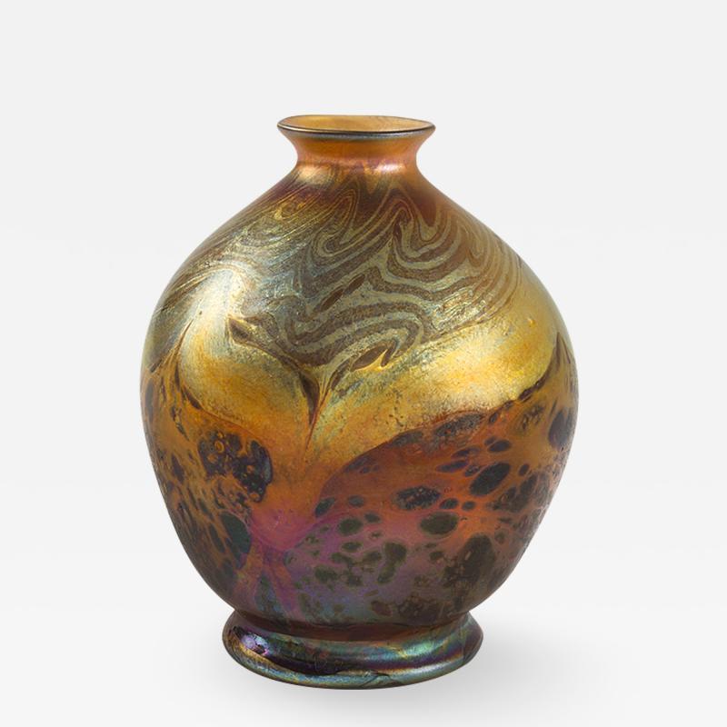 Tiffany Studios Tiffany Studios Cypriote Miniature Vase