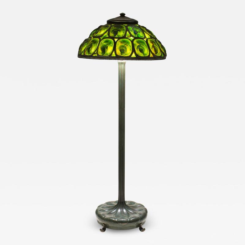 Tiffany Studios Turtle Back Floor Lamp