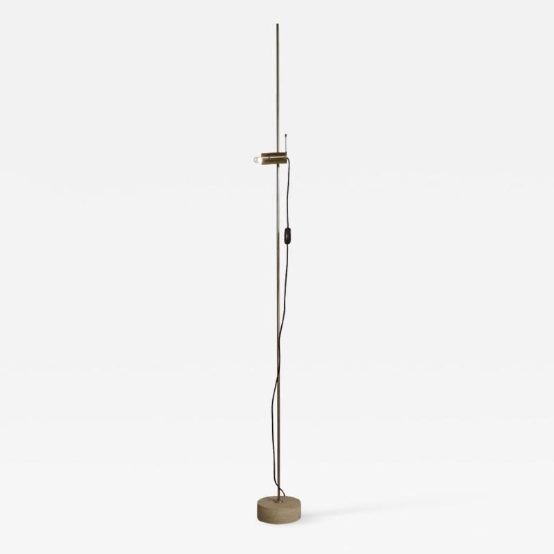Tito Agnoli Rare and Original Tito Agnoli 387 Floor Lamp 1955 Minimalist Icon