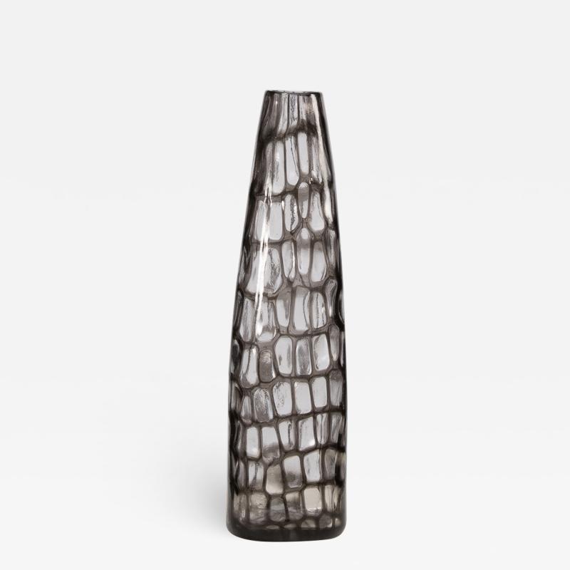 Tobia Scarpa Tobia Scarpa Italy Murano Blown Glass Large Occhi Murrine Vase