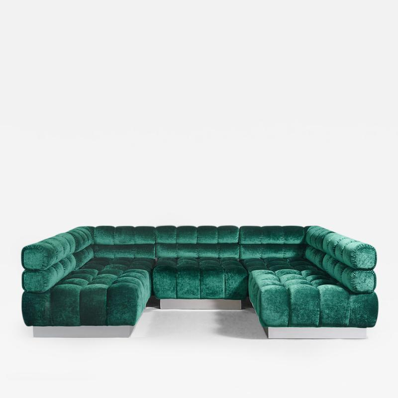 Todd Merrill Todd Merrill Custom Originals Double Back Tufted Sectional Seating USA 2015