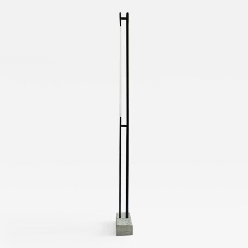 Tom Strala Rough floor lamp with a massive concrete foundation Designed 2008