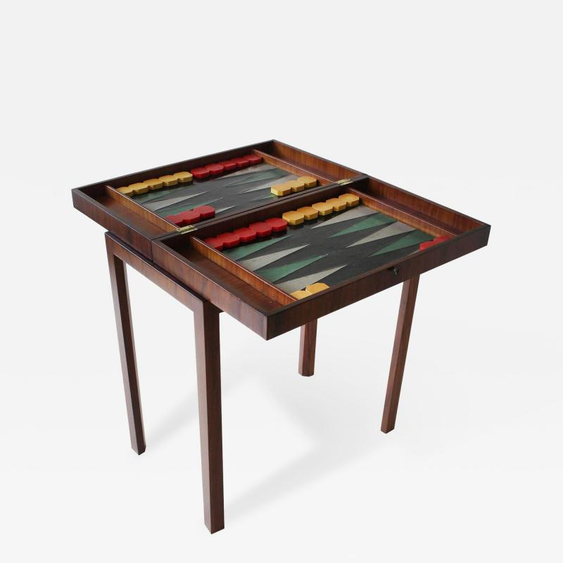 Tommi Parzinger Backgammon Table