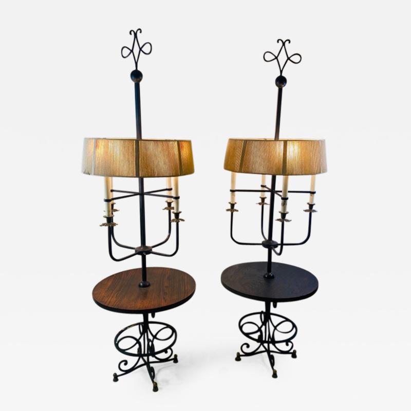 Tommi Parzinger EXTRAORDINARY PAIR OF TOMMI PARZINGER FLOOR LAMPS