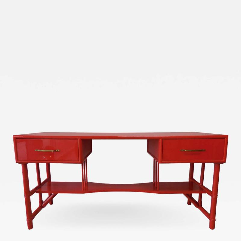 Tommi Parzinger Slender Tommi Parzinger Attributed Desk for Willow and Reed