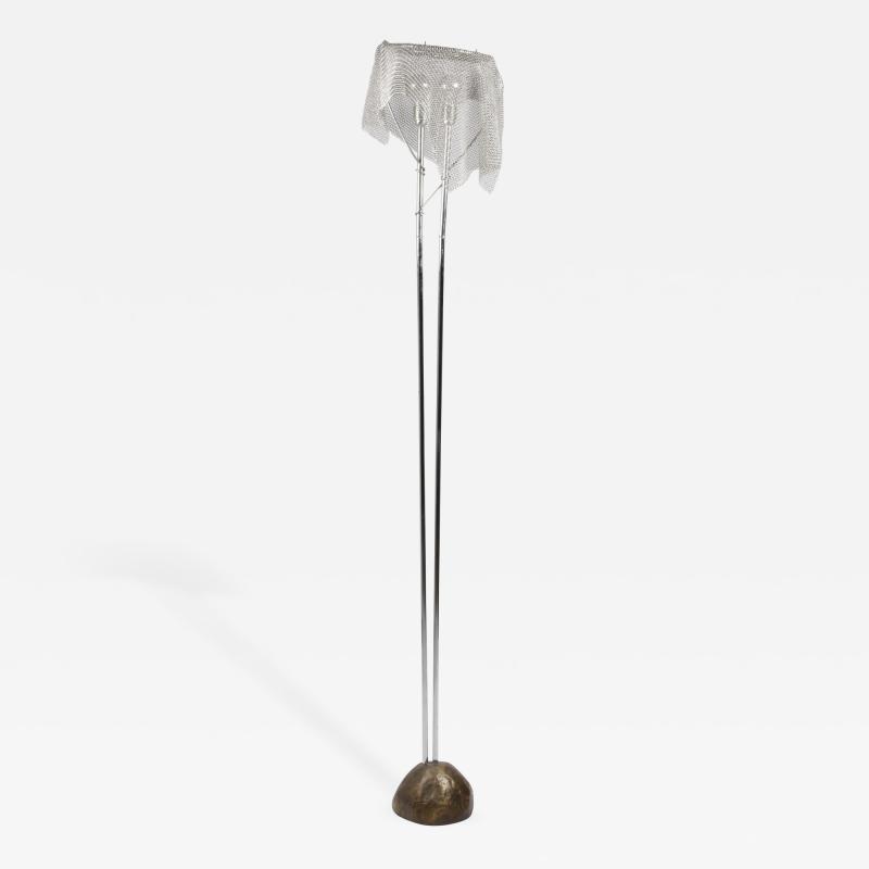 Toni Cordero di Montezemolo Toni Cordero for Arte Medi Chainmail Floor Lamp