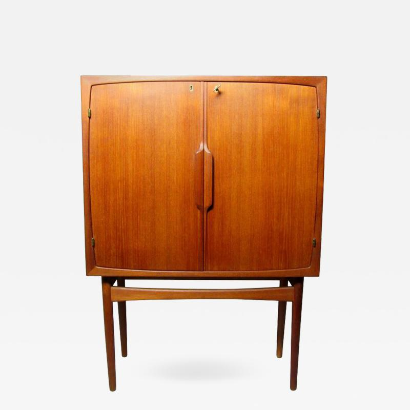 Torbj rn Afdal Liquor Cabinet by Torbjorn Afdal for Mellemstrands M belfabrik Norway circa 1952