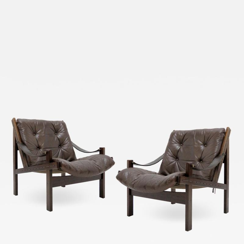 Torbj rn Afdal Pair of Torbj rn Afdal Easy Chairs 1960s