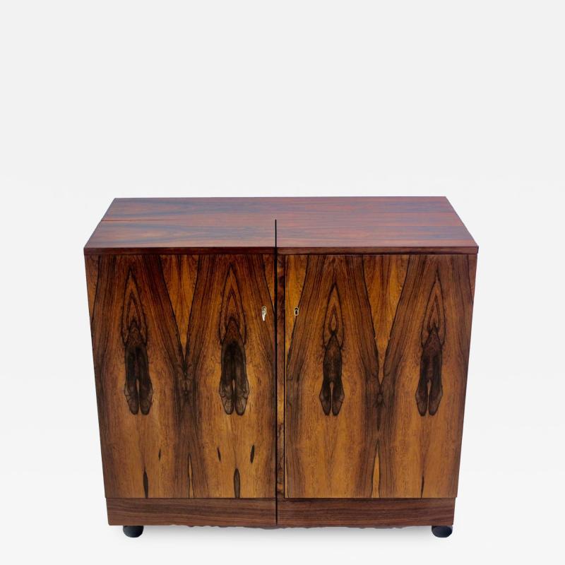 Torbjorn Afdal Scandinavian Modern Bar Cabinet Designed by Torbjorn Afdal