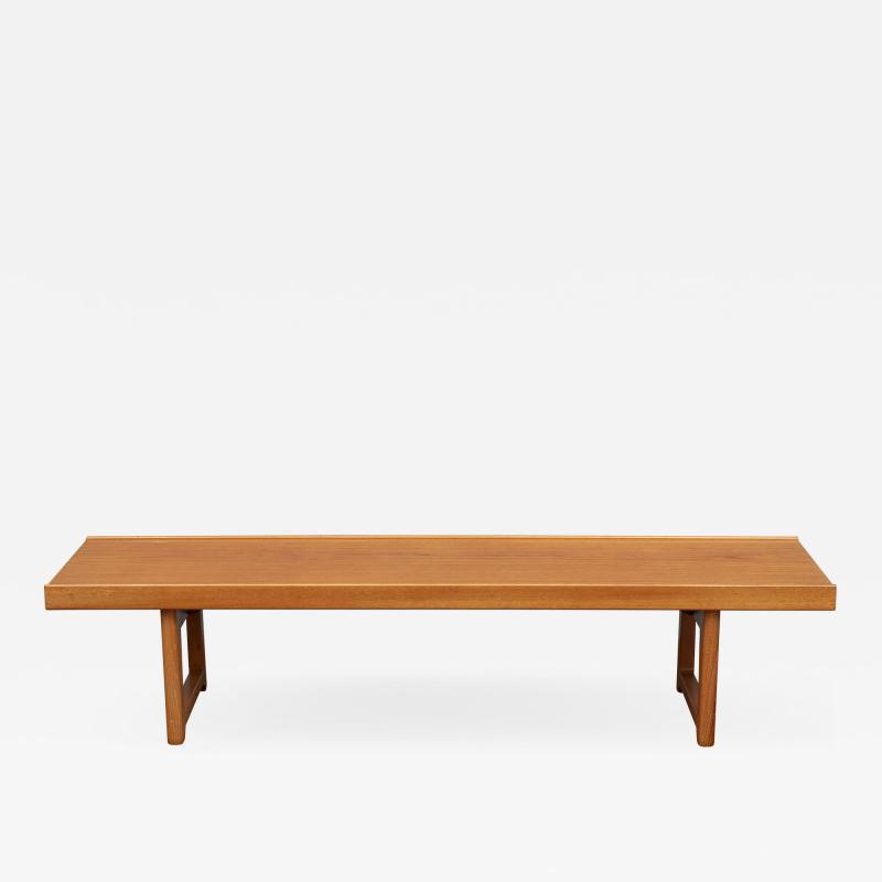 Torbjorn Afdal Torbj rn Afdal Krobo Teak Bench or Coffee Table