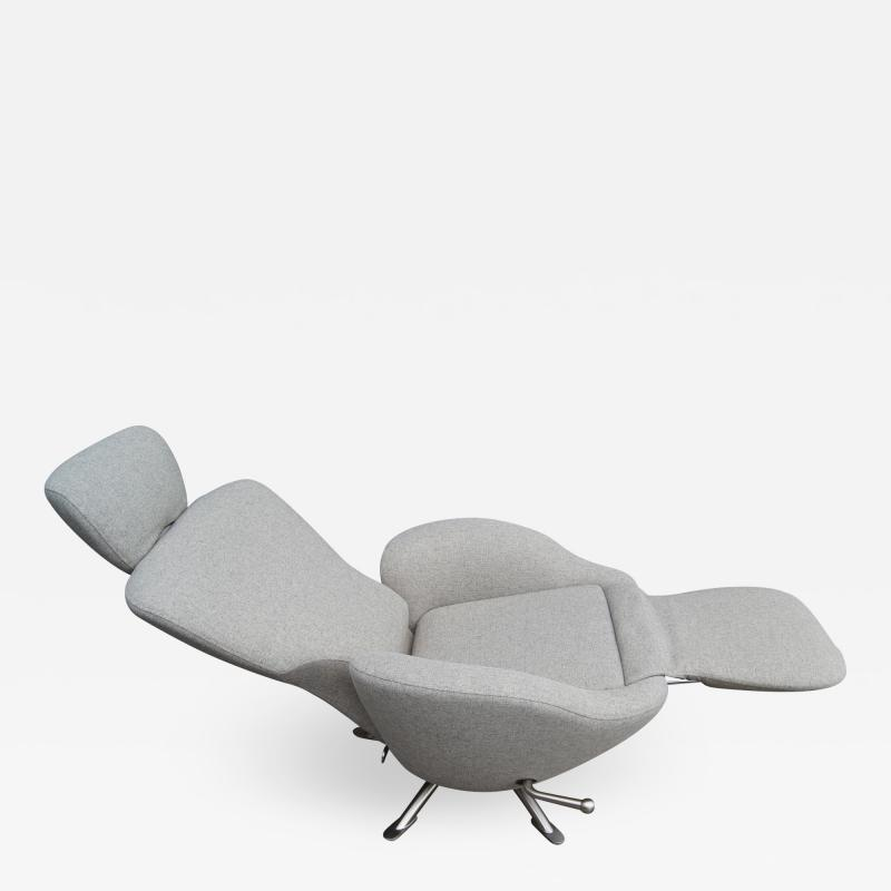 Toshiyuki Kita Dodo Reclining Lounge Chair by Toshiyuki Kita for Cassina