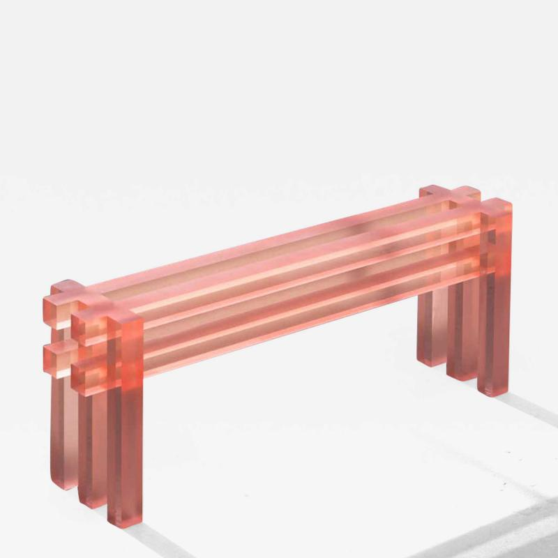 Translucid Bench by Laurids Gall e