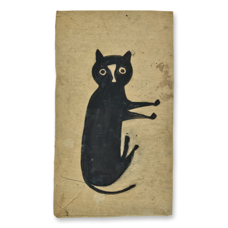 Bill Traylor Black Cat