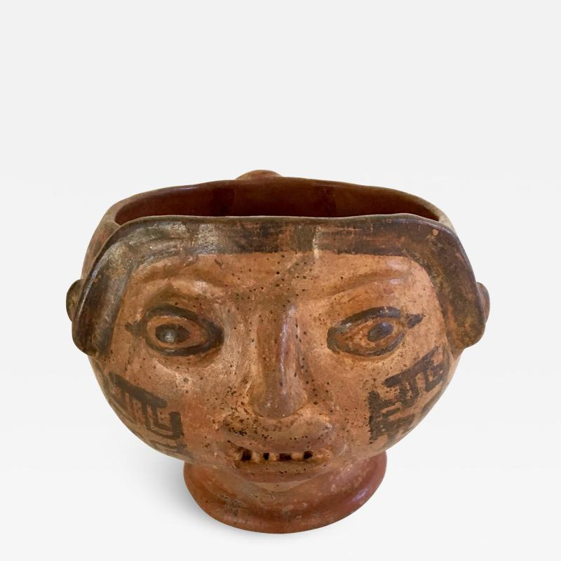 Trophy Head Ritual Bowl Costa Rica c 600 1000 A D