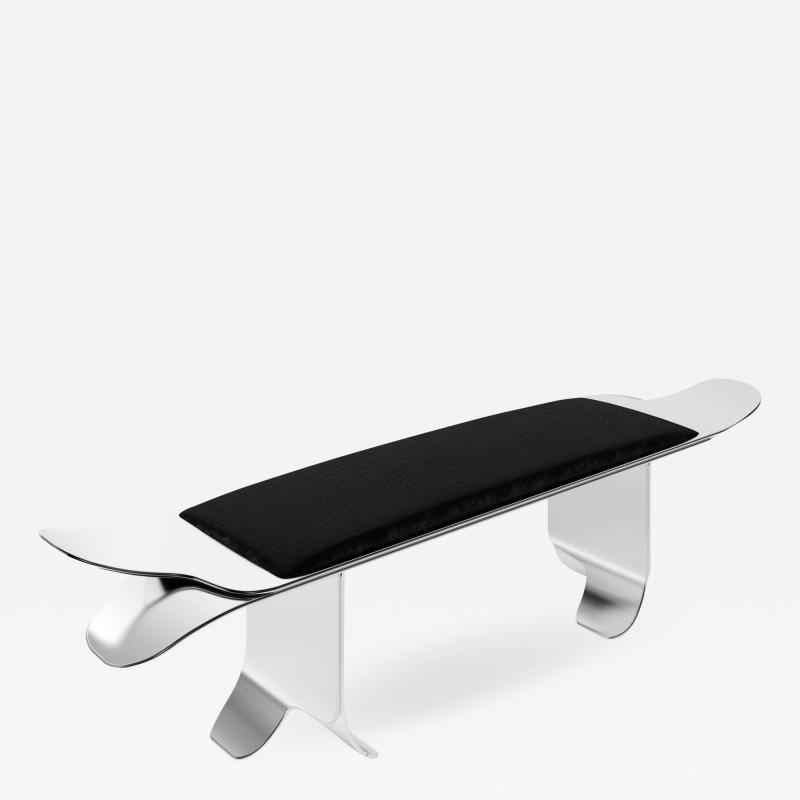 Troy Smith 21st Century Contemporary Handmade Flip Bench By Troy Smith