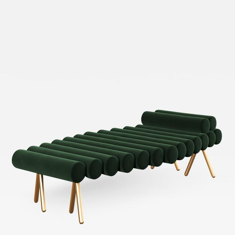 Troy Smith 21st Century Custom Handmade Contemporary Daybed By Troy Smith
