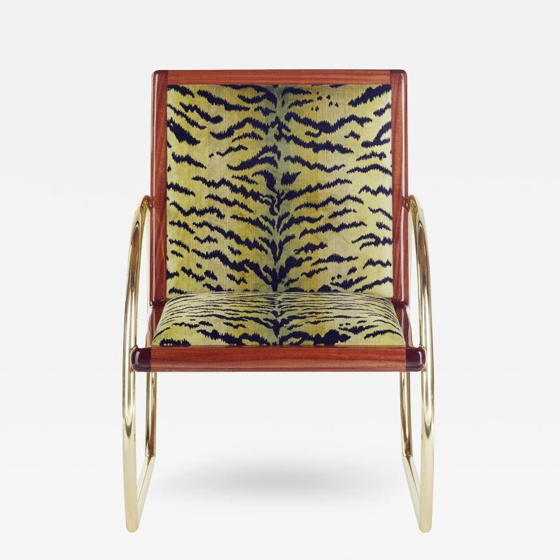 Troy Smith D Ring Lounge Chair