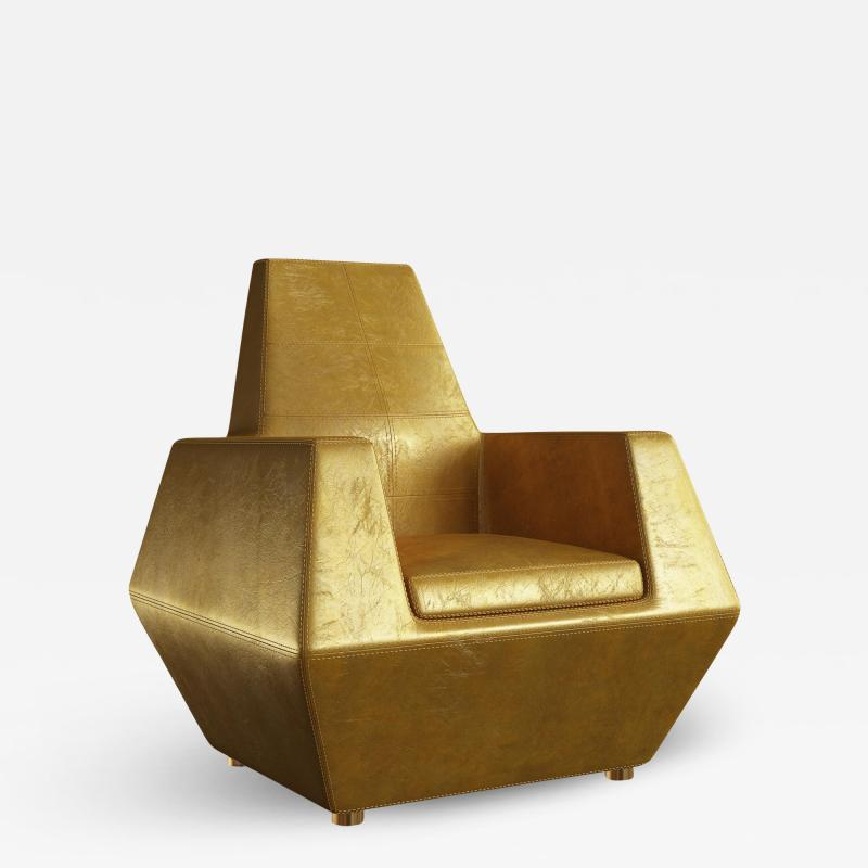 Troy Smith STEALTH LOUNGE CHAIR BY ARTIST TROY SMITH CUSTOM FURNITURE