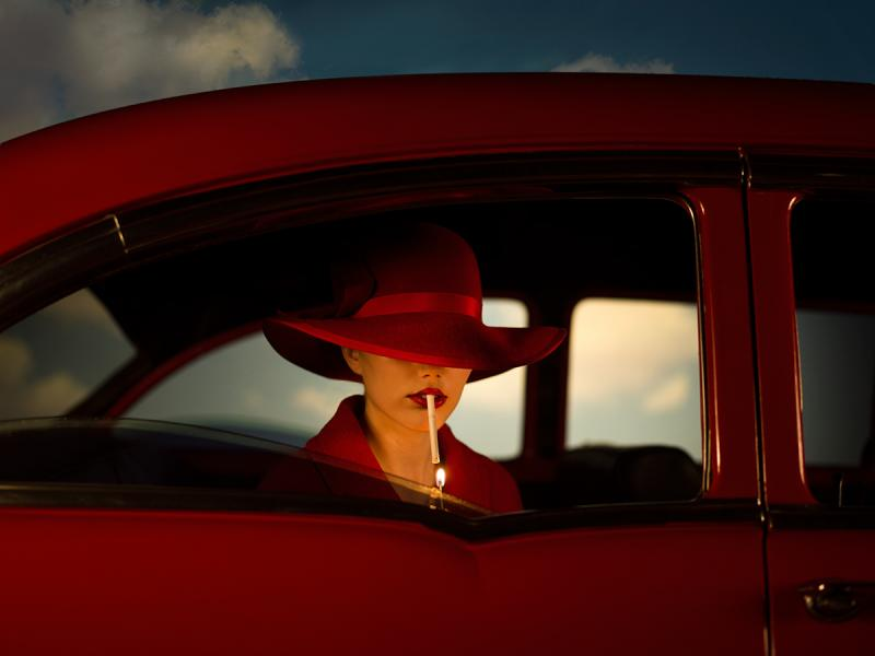 Tyler Shields The Girl In The Red Car