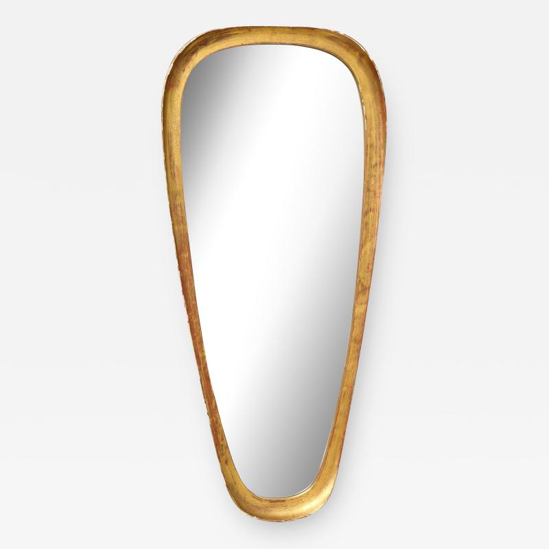Unique Giltwood Mid Century Mirror by LaBarge