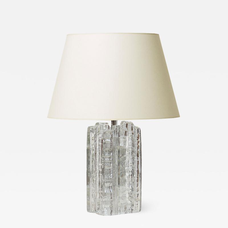 Uno Westerberg Brutalist lamp by Uno Westerberg