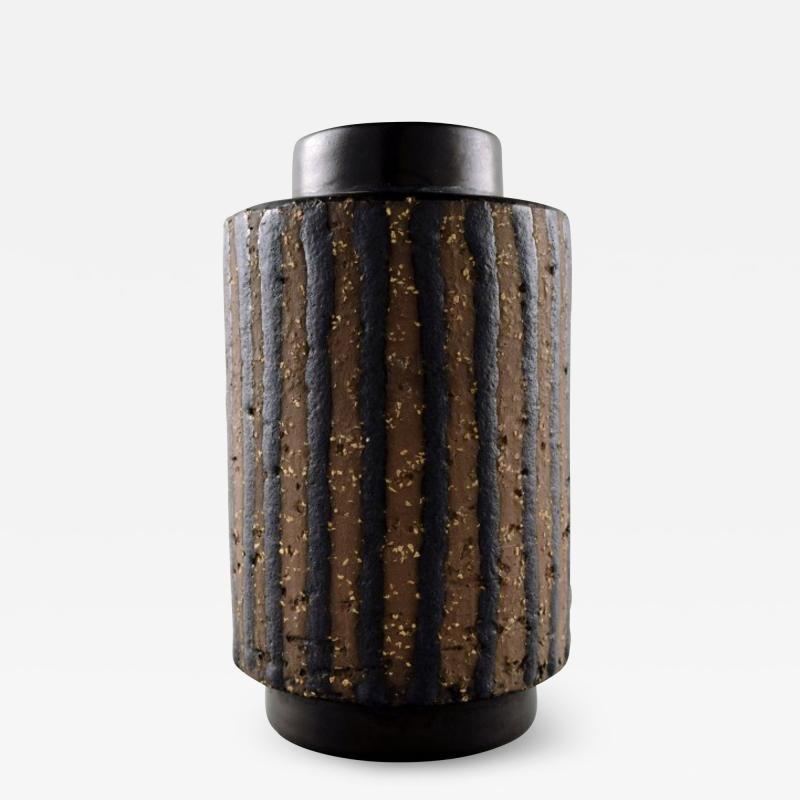 Upsala Ekeby Ringo ceramic vase