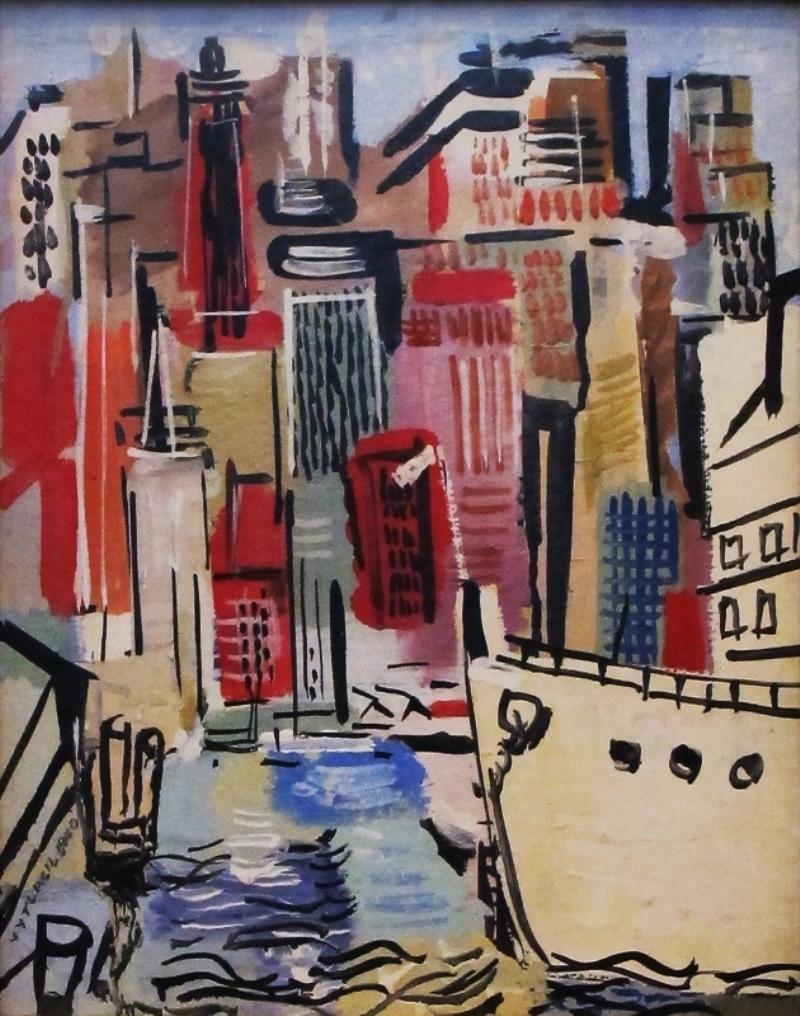 Vaclav Vytlacil Lower Manhattan