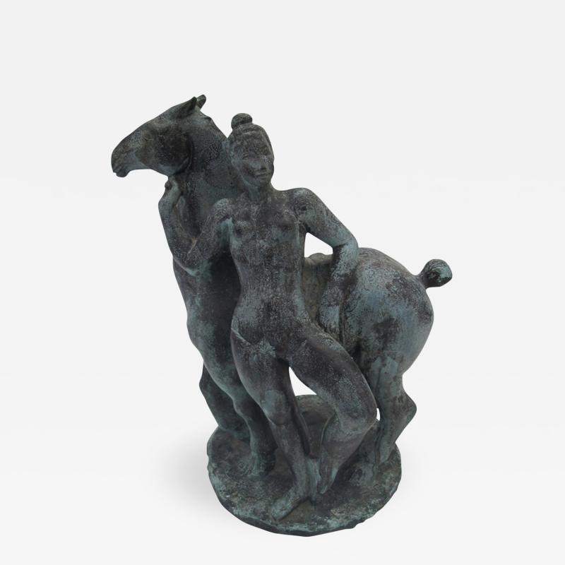 Vadime Androusow Woman and Horse
