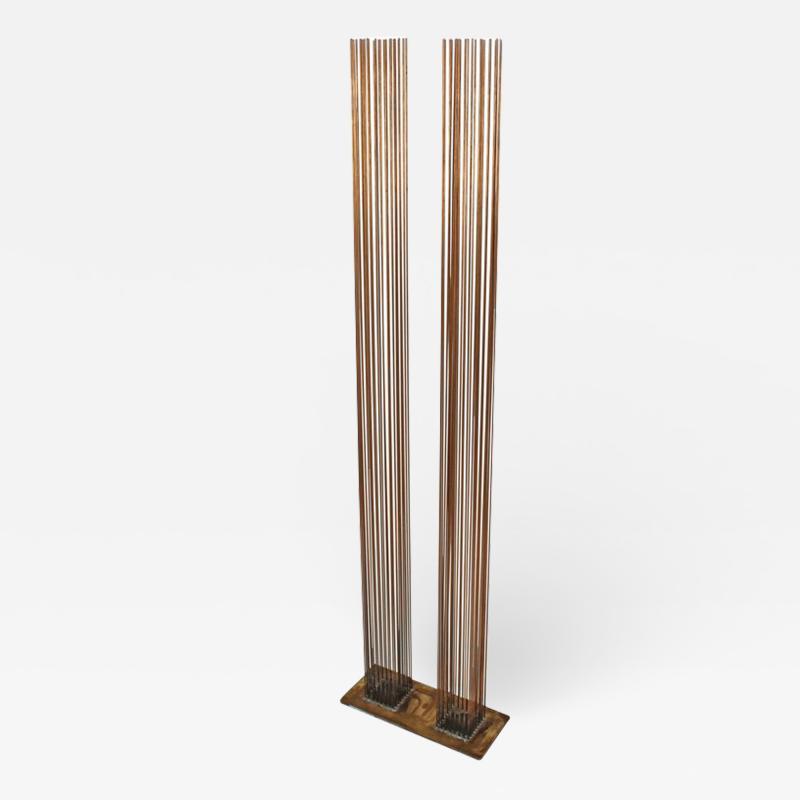 Val Bertoia Brass and Beryllium Copper Sonambinet Sounding Sculpture by Val Bertoia