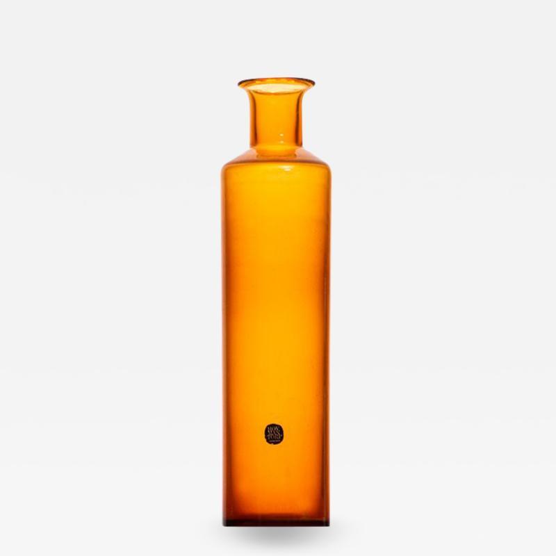 Vase Produced by Glas Tr Hovmantorp in Sweden
