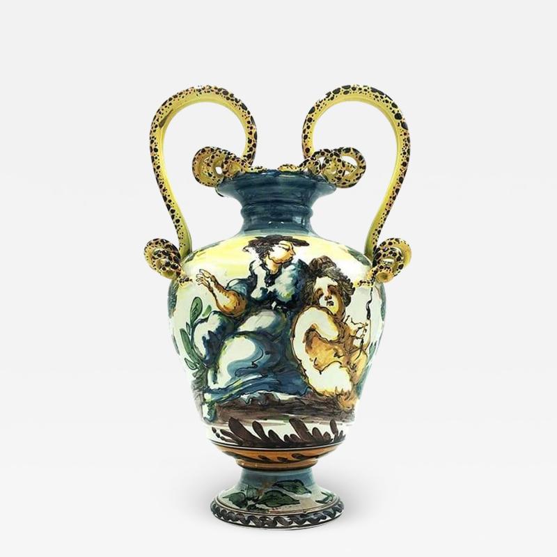 Vase from Albissola 1900s
