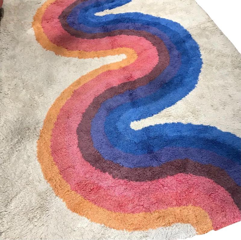 Verner Panton RYA wool rug