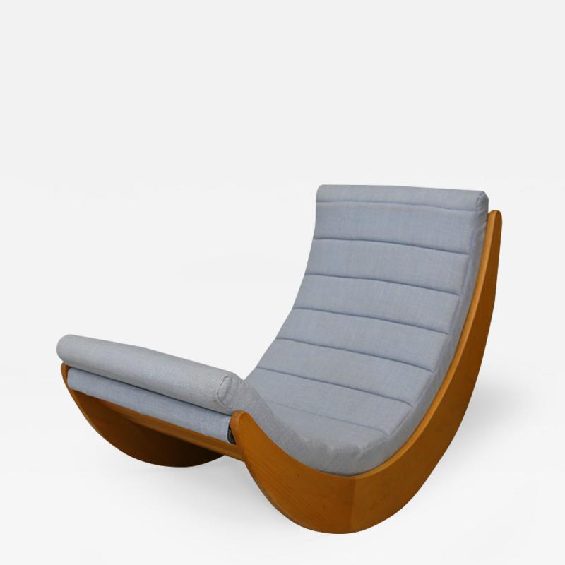 Verner Panton Rocking chair by Verner Panton for Rosenthal 1974