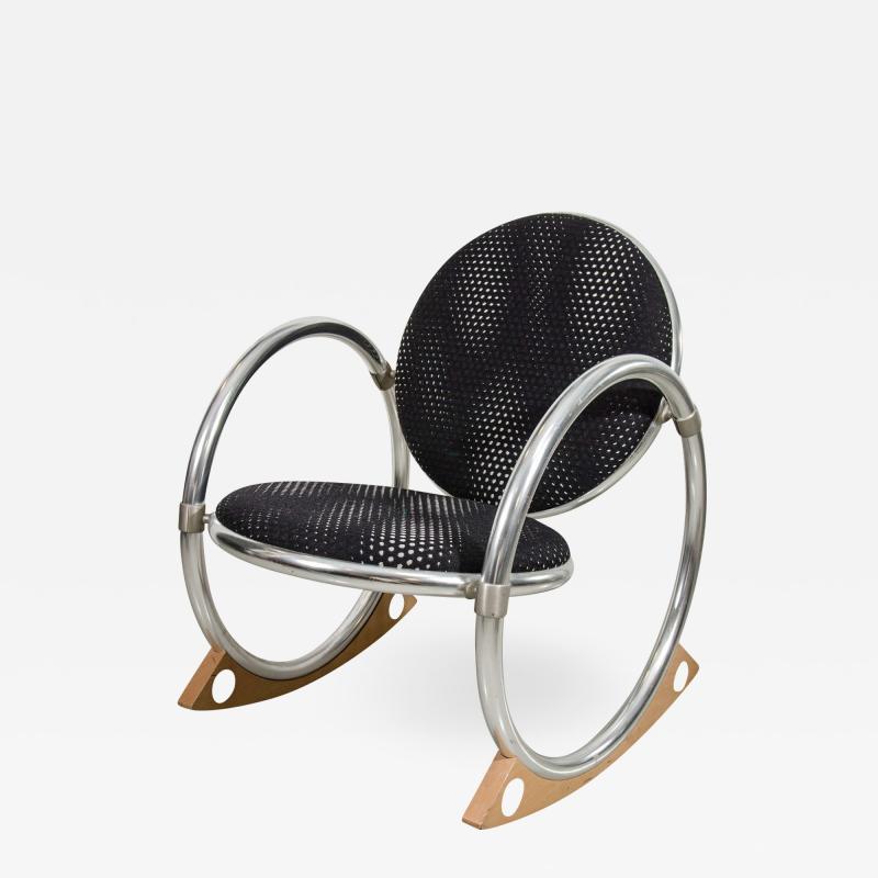 Verner Panton Verner Panton Dondolo for Ycami Rocking Chair