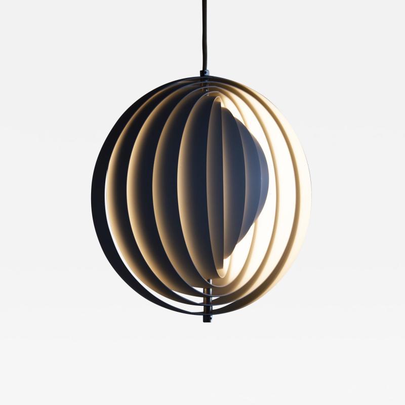 Verner Panton Verner Panton Moon Pendant Lamp for Louis Poulsen