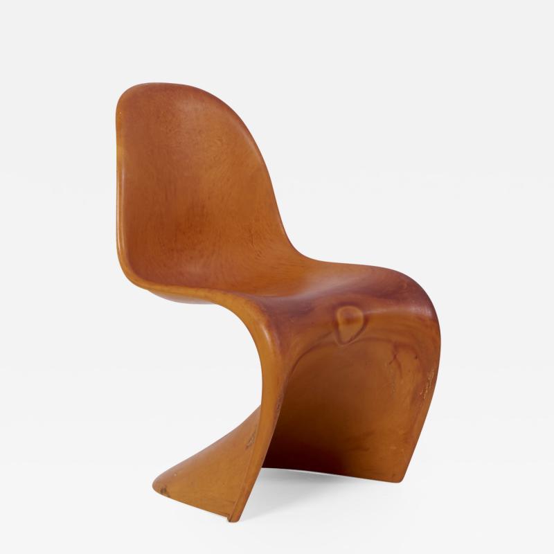Verner Panton Workpiece of the Panton Chair by Verner Panton for Vitra