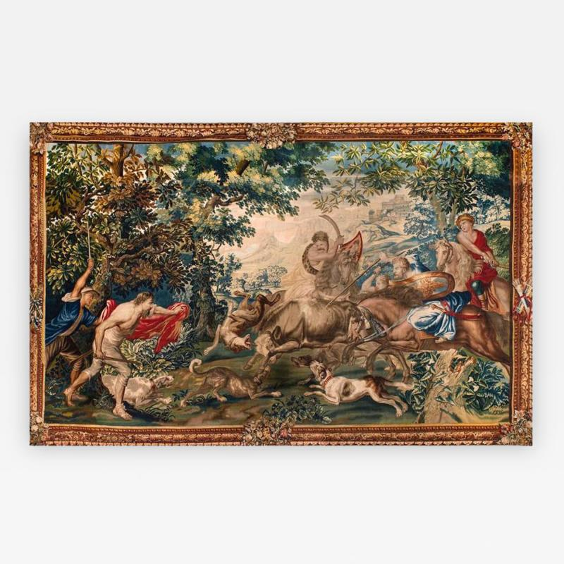 Very Fine and Important Tapestry Bruxelles Second Half of the 17th Century