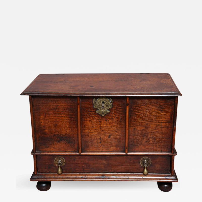 Very Rare 17th Century Charles II English Box